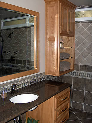Bathroom remodeling pictures, Lake Forest, CA